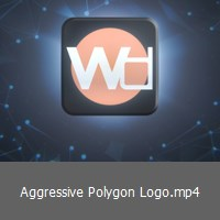 aggressive-polygon-logo