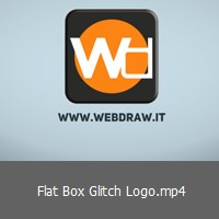 flat-box-glitch-logo