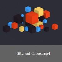 glitched-cubes